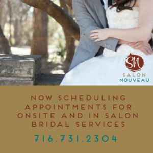 Onsite and in salon bridal