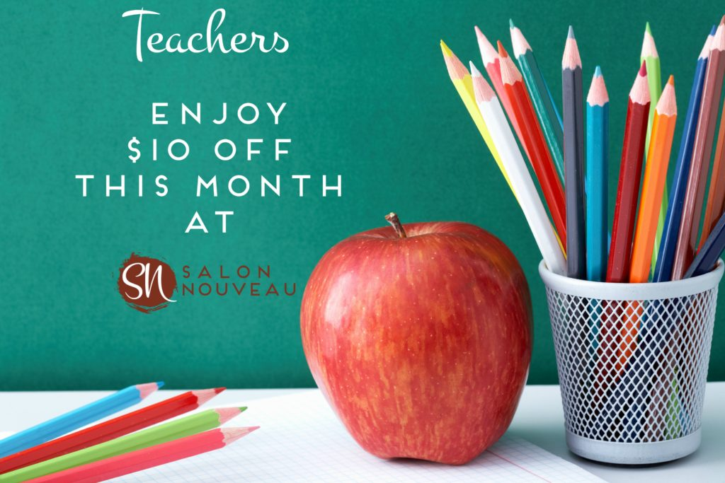 $10 off for Teachers