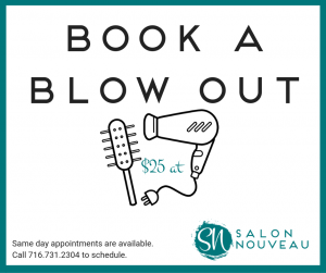 Book a Blow Out